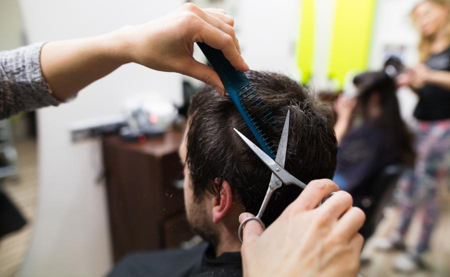 The average cost for a men haircut in the United States 1